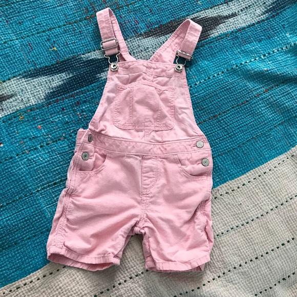 678ec0d13090 GAP Other -  girls  GAPkids pink shorts overalls